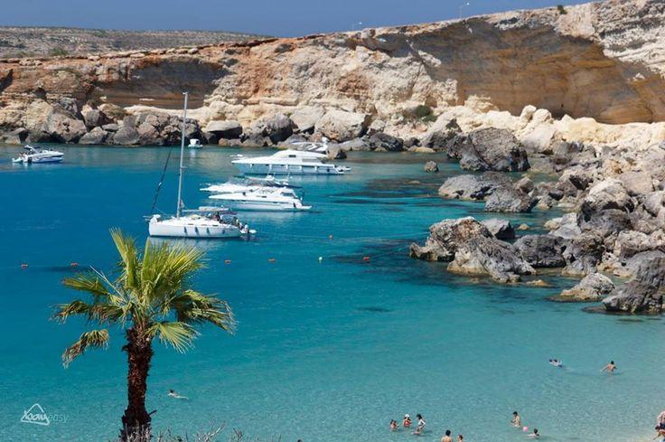 Paradise Bay, Mellieha, Malta. Best beach we've ever been on!