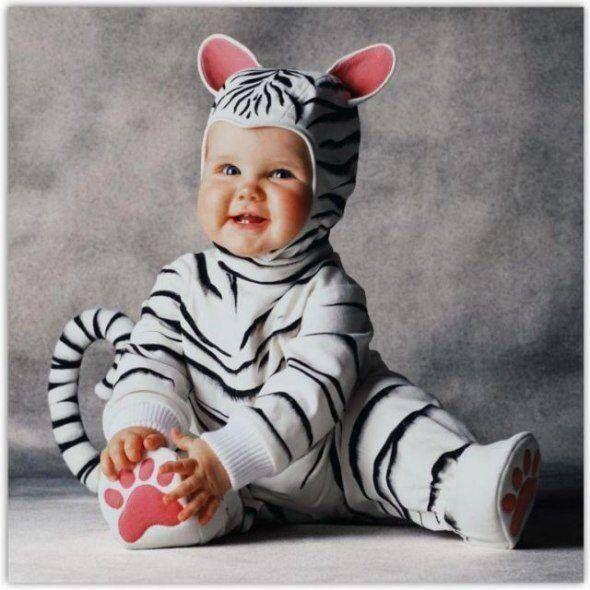 Resultado de imagen para disfraces de sebra para bebe de seis meses
