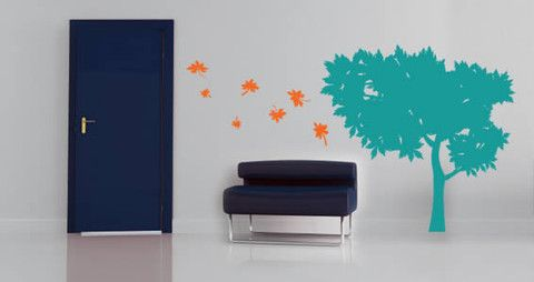 A lovely summer tree wall decal foir your interior Bring in the fun summer vibe to your interior.  Visit this link for more designs: https://limelight-vinyl.myshopify.com/