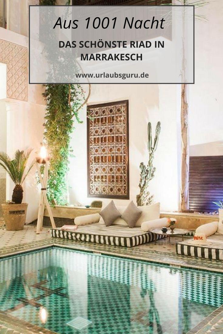 Das Riad Yasmine gehört zu den schönsten Unterkünften in ganz Marrakesch. Diese Fotos sprechen für sich...