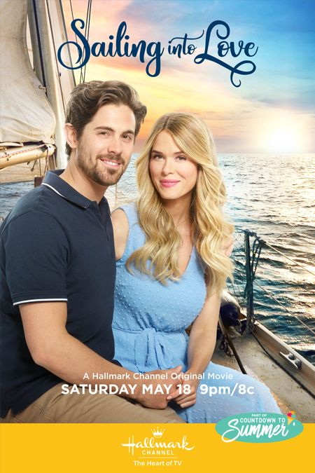 """Its a Wonderful Movie – Your Guide to Family and Christmas Movies on TV: Sailing into Love – a Hallmark Channel """"Countdown to Summer"""" Movie starring L…"""