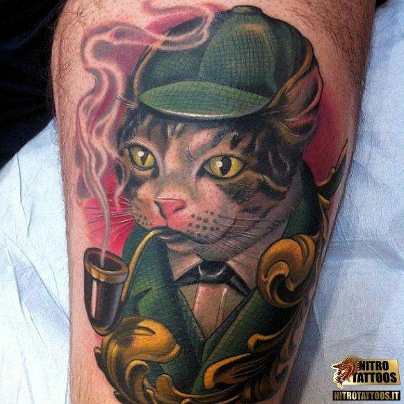 tatuaggi con gatti