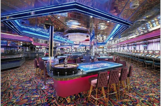 Carnival cruise line gambling age