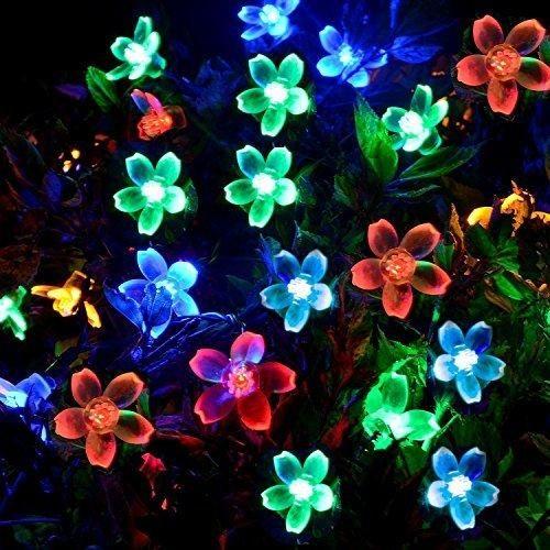 Oferta: 11.99€ Dto: -70%. Comprar Ofertas de [50 Led] Luz Solar al aire libre de la flor \ Fuera de la flor Cordón Decoración de las luces, 8 Modos (constante, flash), Im barato. ¡Mira las ofertas!