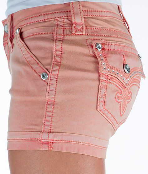 Rock Revival Stretch Short