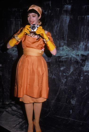 1986, at the Palladium.  Photo: Rose Hartman