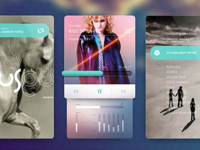 Dribbble - Music Player by Cosmin Capitanu