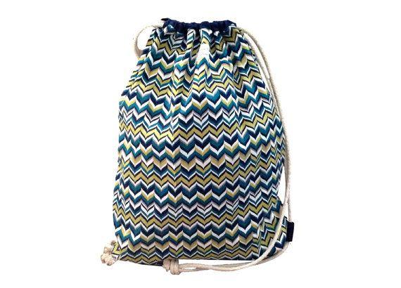 Large Waterproof Drawstring Swim Bag. by Pumpkinpiecreations1