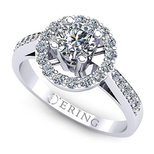 Inel logodna L77ADI Inel cu diamante