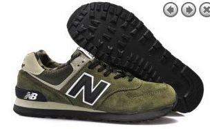 Hombre/Mujer New Balance ml574xgr camo paquete negro verde militar