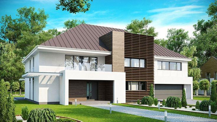 Projekt domu SZ5 Zx20 - DOM OZ4-42 - gotowy projekt domu