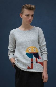 Elk Accessories Abake Print Sweater