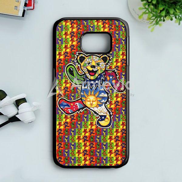 The Grateful Dead Dancing Bear Samsung Galaxy S7 Edge Case   armeyla.com
