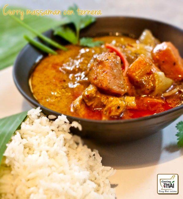 curry massaman, curry tailandés