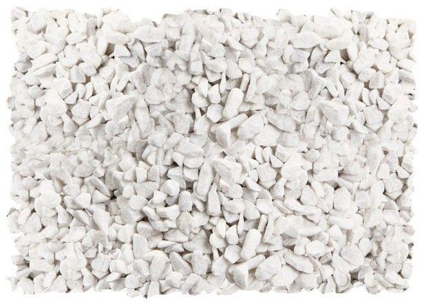 Gravier Marbre Blanc De Calibre 8 12 Brico Depot Gravier Gravier Blanc Allee En Gravier