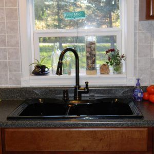 Mobile Home Kitchen Sink Size