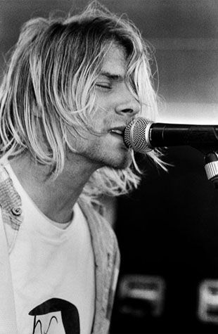 I can never tell if Kurt Cobain's look was effortless, or if he was hyper aware of exactly how he looked.