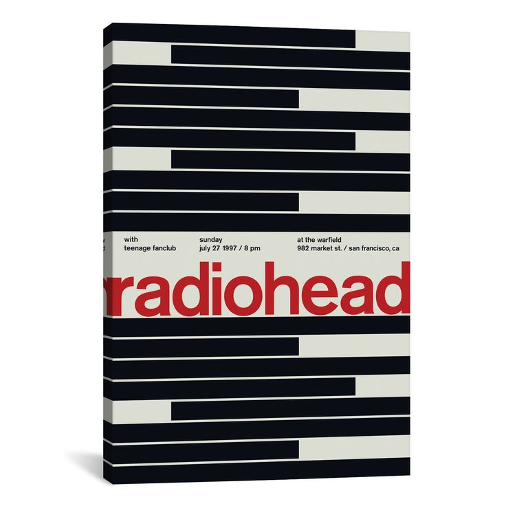 Swissted RADIOHEAD AT THE WARFIELD: July 27th, 1997