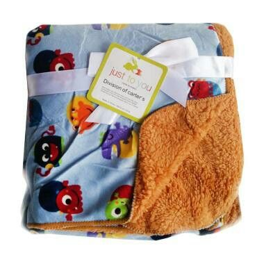 Selimut Bayi Just To You Double Fleece Alien Brown,90rb,WA 081322671779.