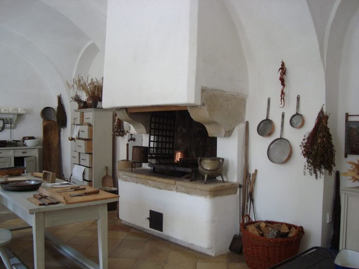 Bitov castle's kitchen, Czech Republic