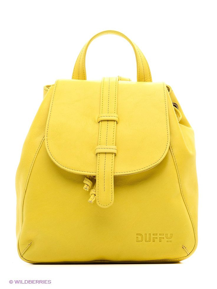 Рюкзак Duffy. Цвет черный.