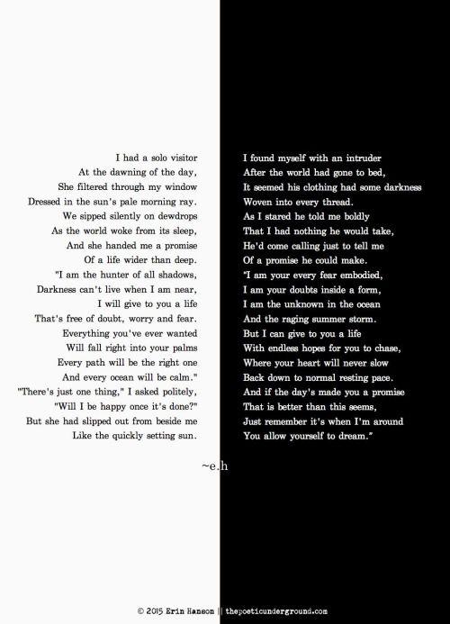 """""""Promises"""" thepoeticunderground.com #poem #poetry"""