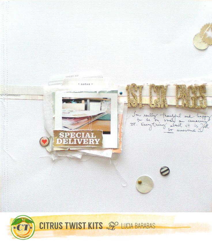design&scrapbook by Lucia Barabas: Citrus Twist Kits August Reveal