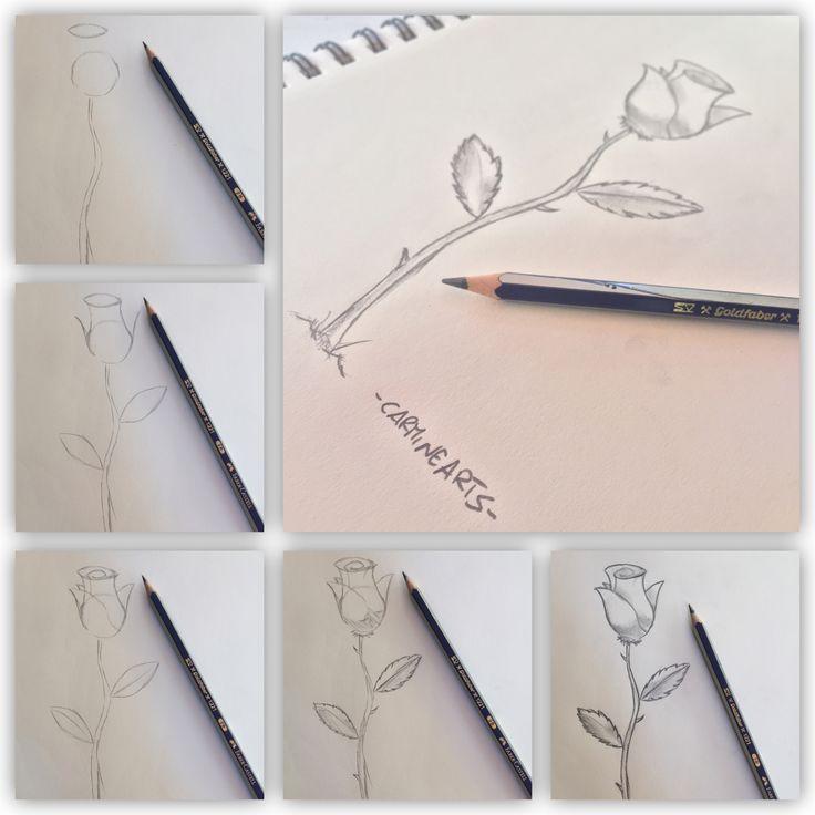 Come #Disegnare una #Rosa!  http://carminearts.carminedidonato.it/come-disegnare-una-rosa/