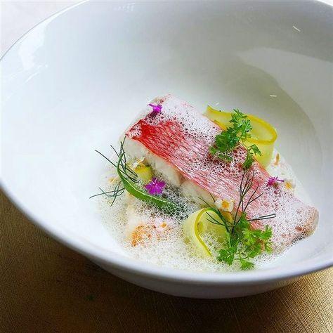 Red snapper. A dish by restaurant Nonoka Fukowoka - Japan.