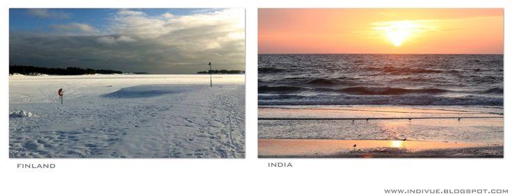 Seas in February - Meriä helmikuussa