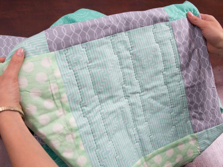 Tutoriales DIY: Cómo bordar patchwork a mano vía DaWanda.com
