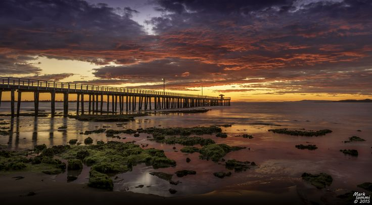 Point Lonsdale Pier at Sunrise by Mark Iommi / 500px