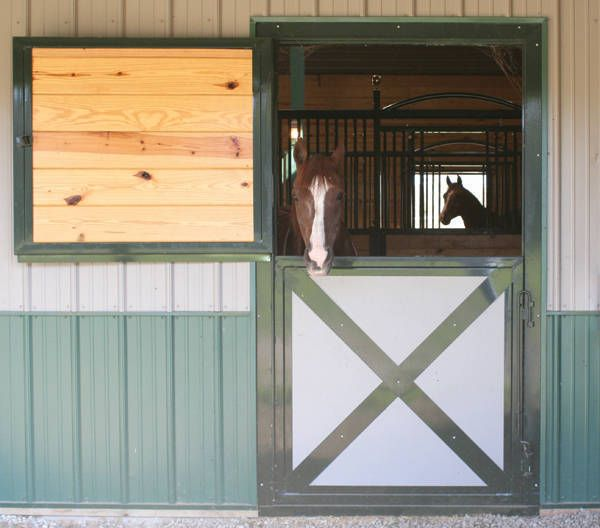 7 ideas to upgrade your barn which could easily also be for Horse stall door plans