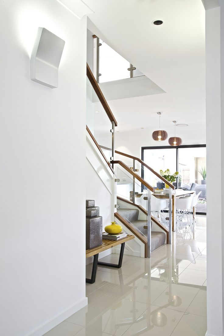 Clarendon Homes. The Madison Series. Light Filled Stairwell.