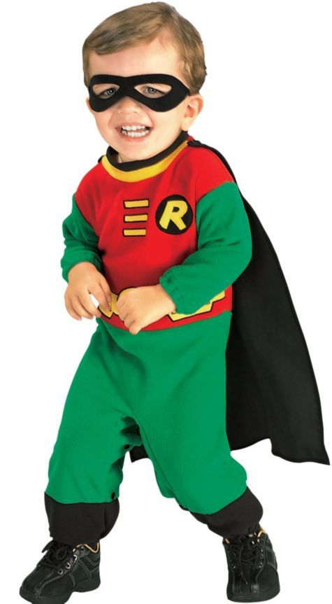 baby teen titans robin costume party city