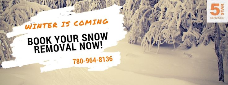 Don't wait! It's time to book your snow removal now! If you're in Edmonton, St. Albert, Sherwood Park, Stony Plain, Spruce Grove or other surrounding areas we'd be happy to serve you!