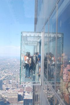 Climb the Willis/Sears Tower in Chicago, the tallest building in the United States.