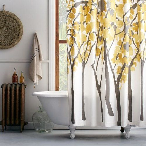 Leafy Layers Shower Curtain