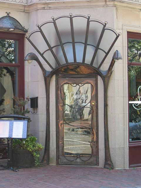 Art Nouveau style Doorway, Cambridge, Massachusetts - US  by solsken on Flirck