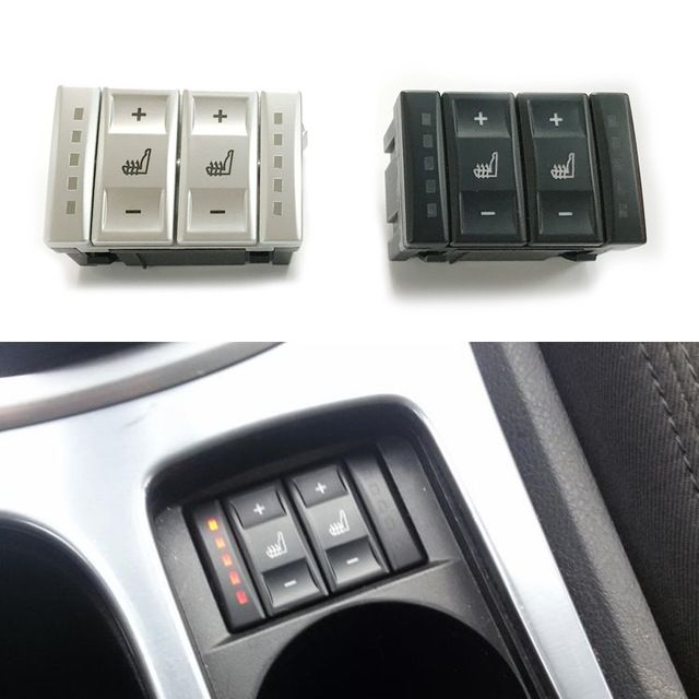 For Ford Mondeo MK3 MK4 S-Max Electric Seat Heated Switch