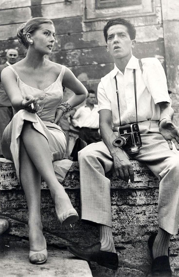 Anita ekberg and pierluigi praturlon
