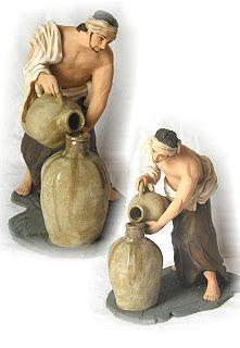 Artesanía Belenísta: Aguador a Palillo 28cm Colección privada del autor (Basado en una pintura de Murillo)
