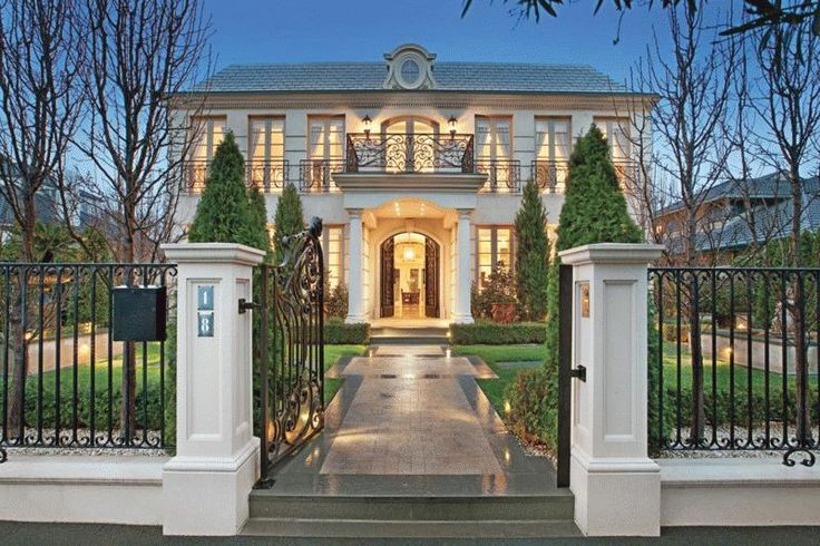 Beautiful french provincial house curb appeal and for French provincial house design