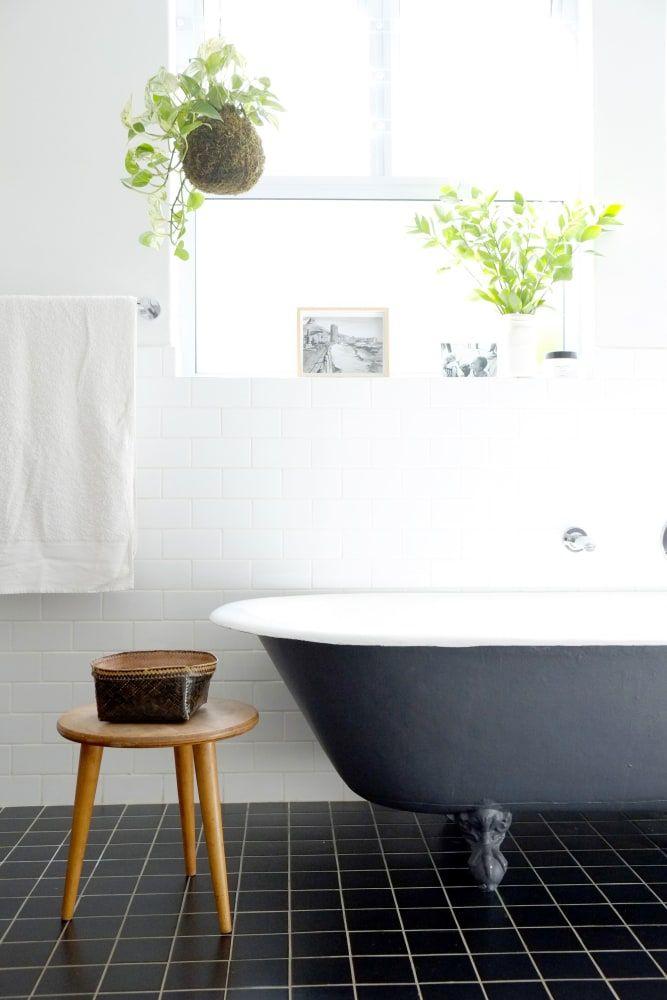 A Scandi Inspired Vintage Modern Mix In Cape Town Modern Bathroom Tile Traditional Bathroom Bathroom Floor Tiles