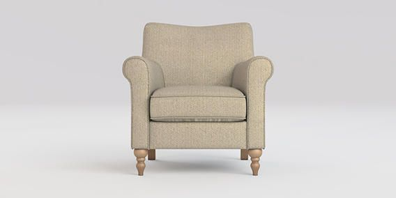 Buy Hudson Chair (1 Seat) House Textured Dark Natural High Turned - Light from the Next UK online shop