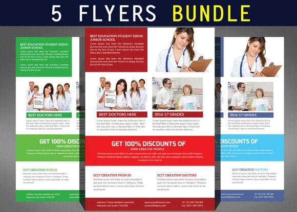 Best Medical Flyer Design Images On   Flyer Design