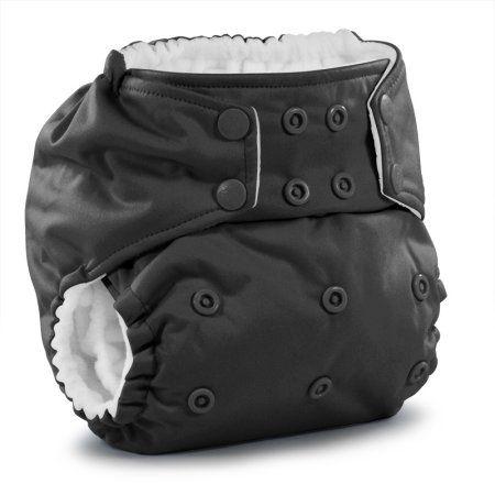 Rumparooz One Size Pocket Cloth Diaper - Castle, Gray