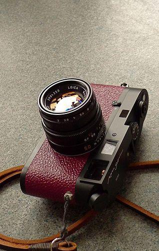 Leica MP Ralph Gibson special edition