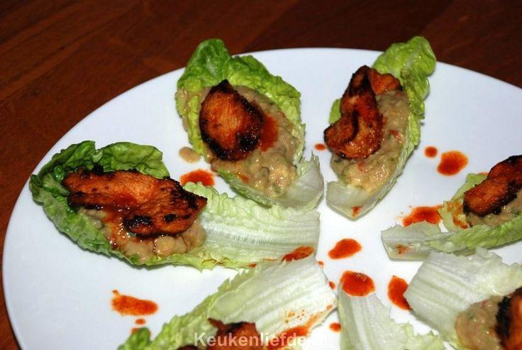 Pittige kiphapjes met limoen guacamole - Keuken♥Liefde