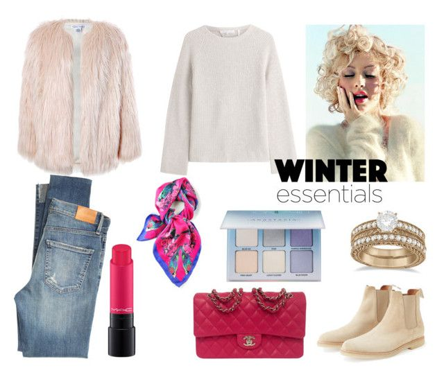 """""""Winter"""" by elena-anders on Polyvore featuring мода, Helmut Lang, Sans Souci, Citizens of Humanity, MAC Cosmetics, Chanel, Allurez, Kris Jane и Anastasia Beverly Hills"""
